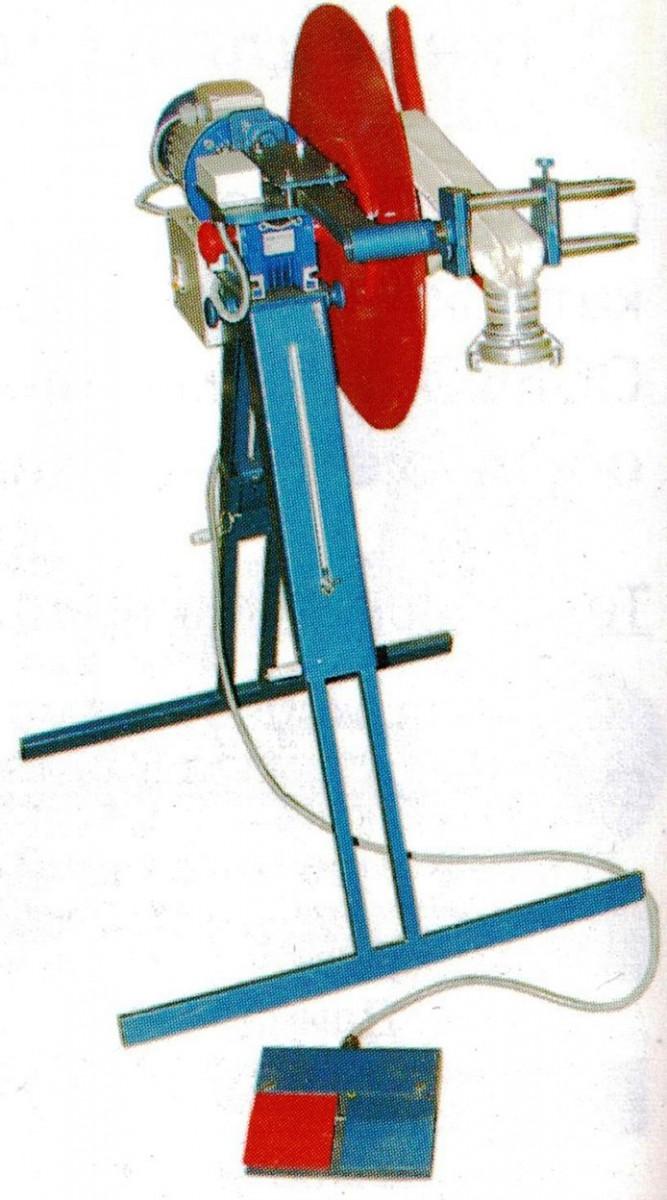 Станок для намотки пожарных рукавов в скатку ТЦ-52